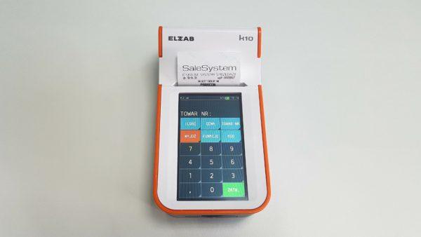 Kasa fiskalna K10 Warszawa Sale System Sklep 1