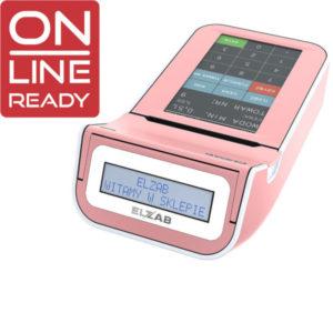 Kasa fiskalna ELZAB K10 różowa Online Ready Sale System Warszawa
