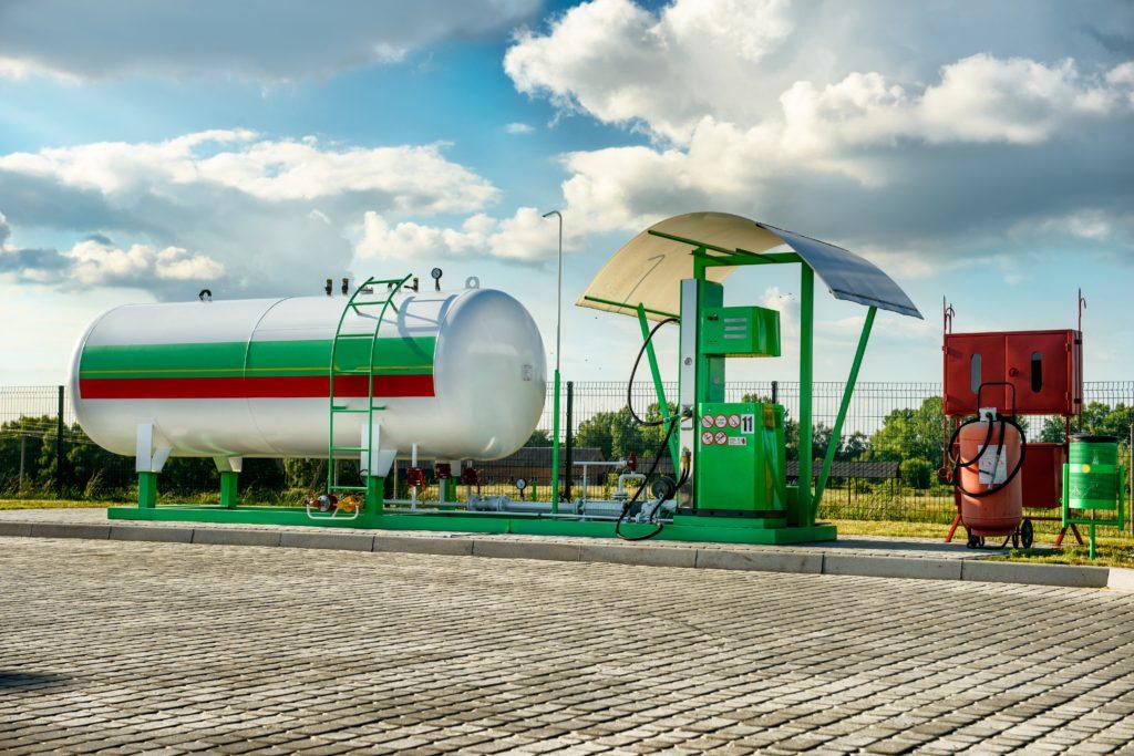 Kasa fiskalna online dla stacji LPG Sale System