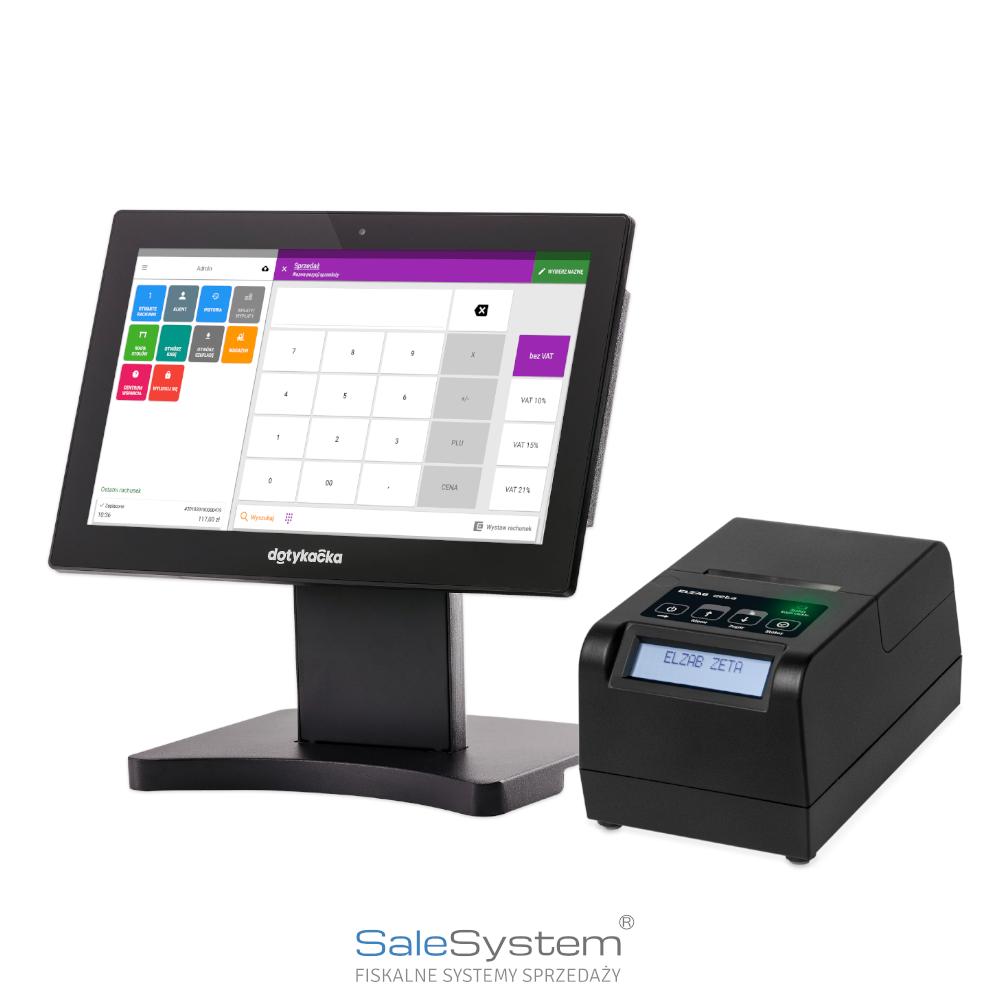 Tablet 14 tablet komplet dotykacka Elzab zeta online Gdzie kupić System POS Dotykacka Warszawa Sale System online
