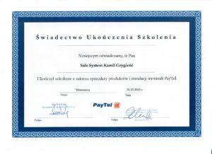 Autoryzowany partner PayTel Sale System