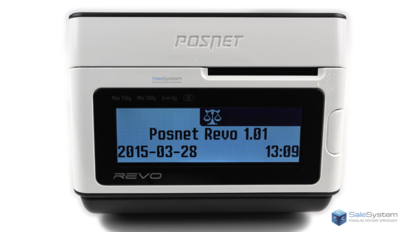 POSNET Revo wyświetlacz klienta sale system serwis